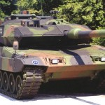 leopard armoured tank