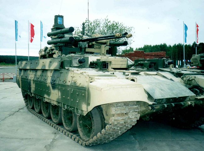 BMP-T Tank Support Fighting Vehicle (TSFV)