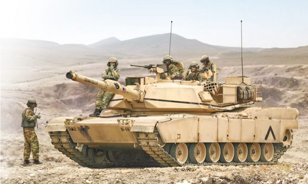 M1A2 Abrams Main Battle Tank (MBT)