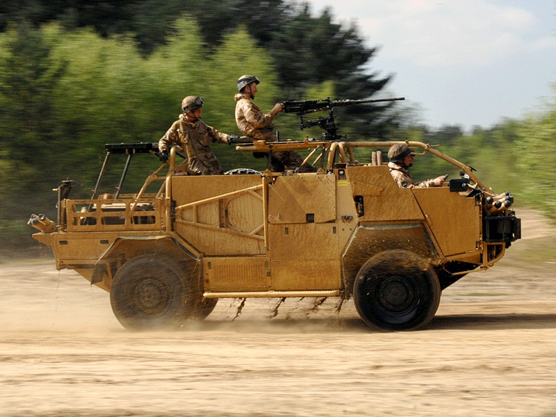 List of British military vehicles in Afghanistan