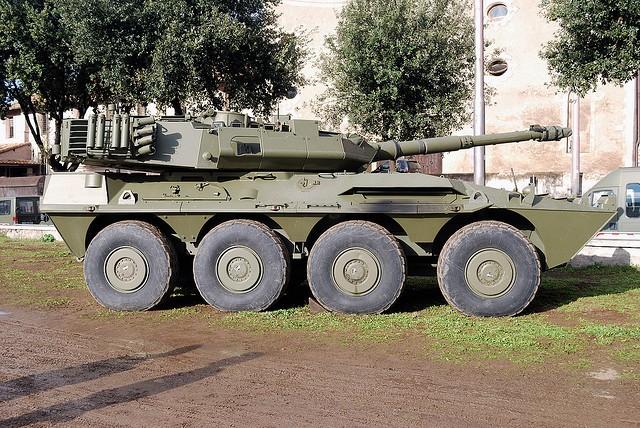 [B1] Centauro tank destroyer (TD)