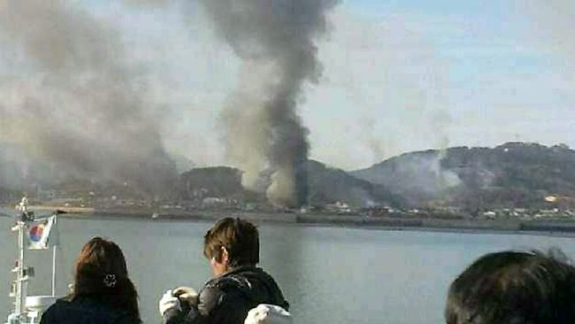 Yeonpyeong island fired on by North Korean artillery