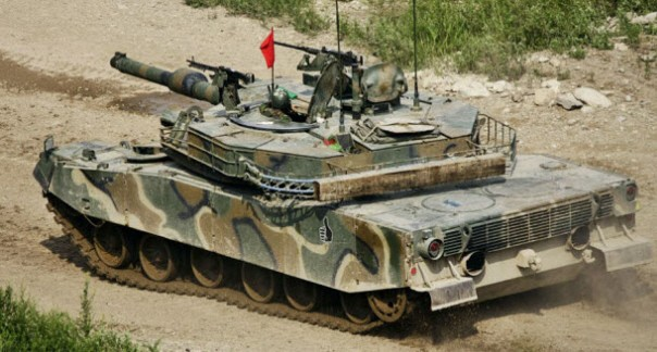 K1-K1A1 main battle tank (MBT)