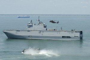 Mistral Class Assualt Ship  - France