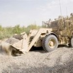 Talisman in Afghanistan - Road clearing