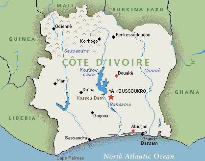 The Ivory Coast issue, civil war a possibility…
