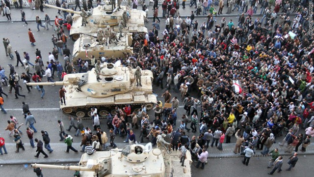 Military mobilised in Egypt [updated]