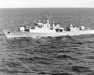 A Lybian Koni Class Frigate