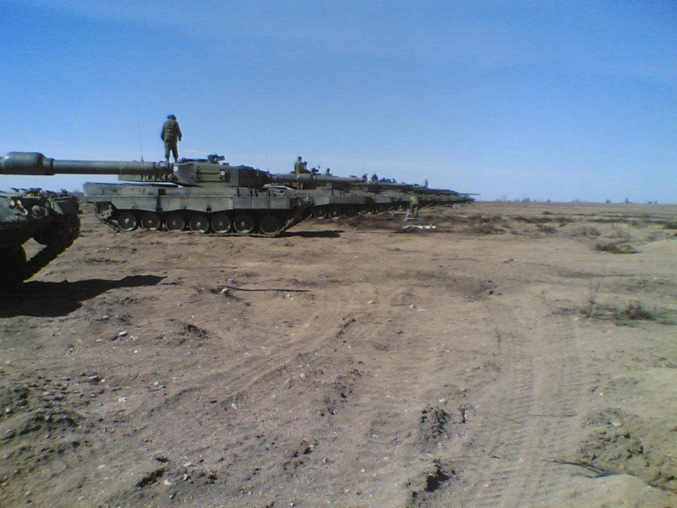 Video of the Leopard 2A4