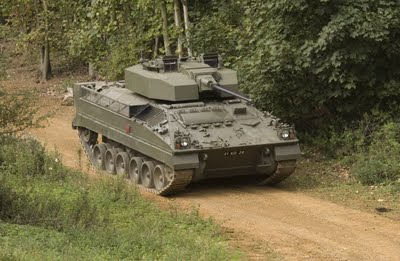 British Army upgrading Warrior IFV