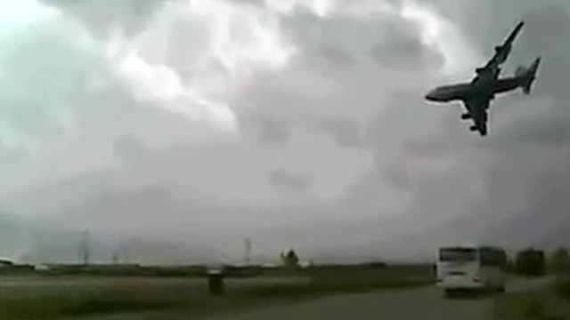 BAGRAM AIRBASE – 747 cargo plane crashes