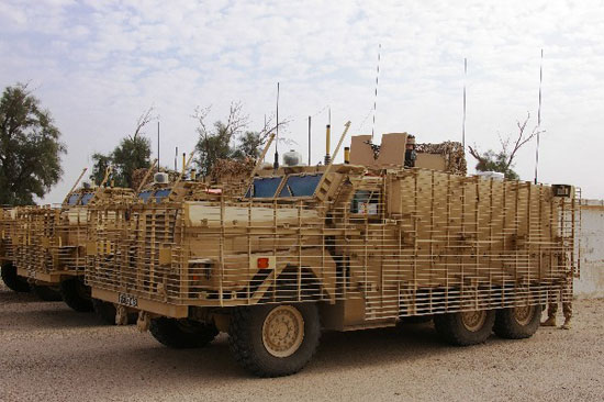 British Mastiff 2 Armored Vehicle