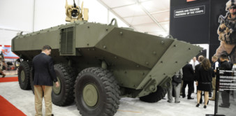 Marine Personnel Carrier (MPC) or Iveco Superav 8x8 APC