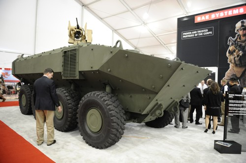 Marine Personnel Carrier (MPC) or Iveco Superav 8×8 APC