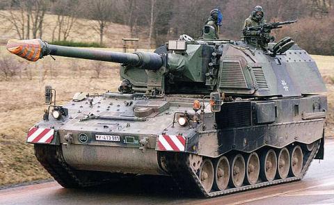 PzH 2000 or Panzerhaubitze 2000